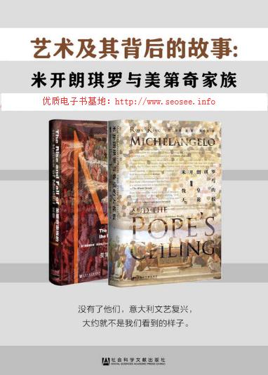 艺术及其背后的故事:米开朗琪罗与美第奇家族套装2册